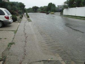 Hurricane Irene View from Long Beach