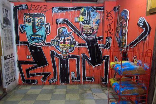 Street Art Near East Village Apartments