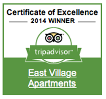 Certificate for Excellence to East Village Apartments