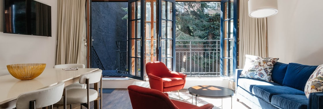 Gramercy Townhouse Apartments In Manhattan By Sudha